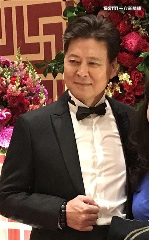 劉尚謙表示未來有機會,期待能與三位兒女劉至翰、劉致妤、孫沁岳一同演戲。(圖/記者邱榮吉攝影)