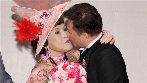 李朝永、周遊紅寶石婚禮場面之盛大被譽為是世紀婚宴。(記者邱榮吉/攝影)