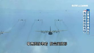 國慶壓軸幻象衝場 空軍力拼完美隊形