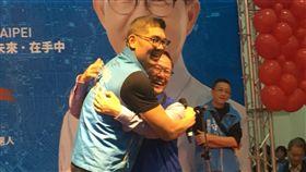 國民黨台北市長參選人丁守中成立競選總部,丁守中競選總部提供。