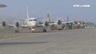 國慶空中編隊秀 慢速機當主角低空飛