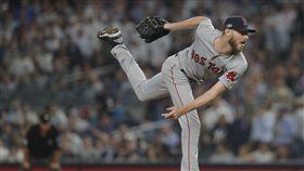 ▲波士頓紅襪王牌左投Chris Sale季後賽角色關鍵。(圖/美聯社/達志影像)