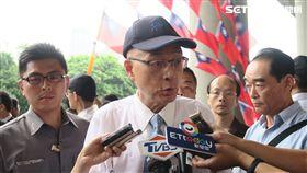 國民黨主席吳敦義。(圖/記者盧素梅攝)