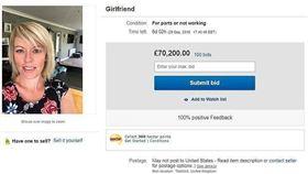 報一鞭之仇...他怒把女友上網拍賣竟競標到280萬 圖/翻攝自每日郵報