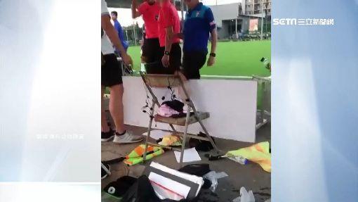 新足協高層比賽釀衝突 一衝進場一翻桌