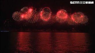 多圖/生日快樂!國慶焰火閃耀太平洋