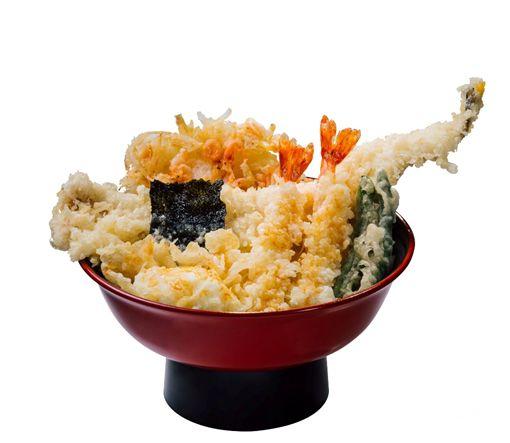 日本平價天婦羅丼飯。