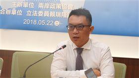 ▲兩岸政策協會祕書長王智盛。(圖/記者林仕祥攝)