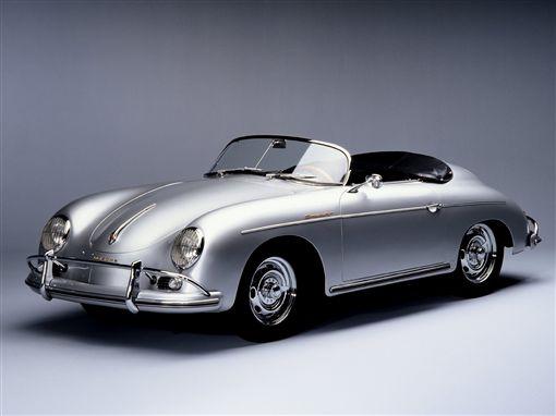 Porsche 356A設計源自金龜車。(圖/翻攝網站)