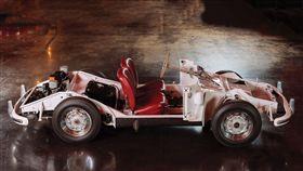 Porsche 356A訓練底盤。(圖/翻攝網站)