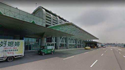 越籍女子,入境,台南,小港機場/翻攝google map