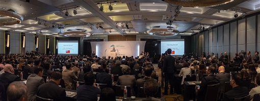 蔡英文總統今(11)日上午出席「玉山論壇開幕式」。(圖/總統府提供)