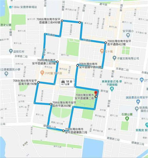 台南迎國慶 民眾號召晨間路跑過雙十