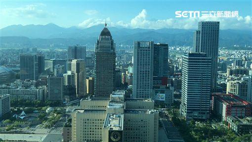 台北101鸟瞰。(图/记者蔡佩蓉摄影)
