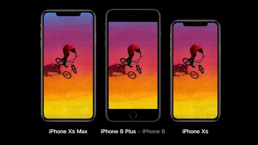iPhone8Plus / iPhoneXsMax / iPhoneXs (蘋果官網)