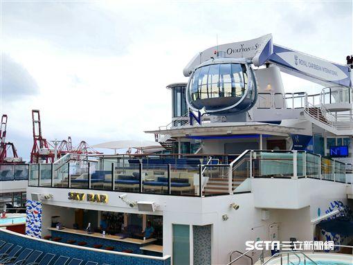 皇家加勒比遊輪,遊輪,海洋贊禮號。(圖/記者馮珮汶攝)