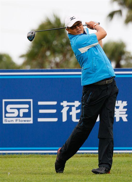 謝東宏首合回67桿並列領先。(圖/TPGA提供)