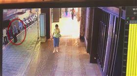 台北,南京東路,屁孩,尬車,車禍(圖/翻攝畫面)