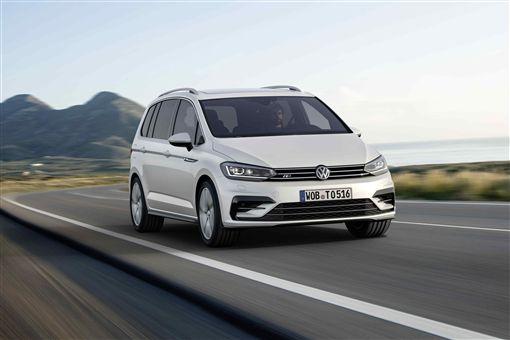 2019年式Volkswagen Touran。(圖/ Volkswagen提供)