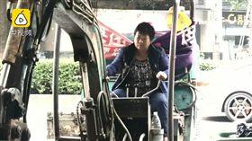 兒女不結婚 強國大媽離家出走「佛系逼婚」(圖/翻攝自梨視頻)中國,大媽,逼婚