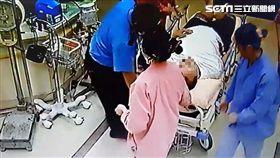 東港深夜傳槍響!男助陣談判腹部中彈 自行走進急診室就醫 圖/翻攝畫面