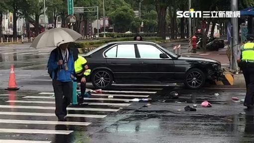 台中,西屯區,違規,車禍,機車,BMW