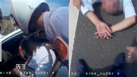 暖警CPR昏迷男搶回一命「貼心擋太陽」 23萬網讚爆:眼眶濕(圖/翻攝自台南市警察局臉書)