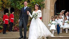 尤金妮公主,皇室,婚禮(圖/翻攝自The Royal Family Twitter)