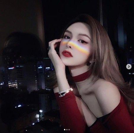 周揚青,羅志祥(圖/周揚青IG)