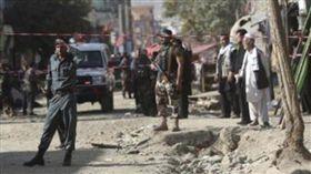 阿富汗遭恐怖攻擊釀14死32傷。(圖/翻攝自推特)