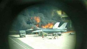 比利時,空軍,F-16,爆炸,技師(圖/翻攝自臉書Scramble Magazine)