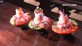丼飯疊18公分! 鮮魚.甜蝦.海膽