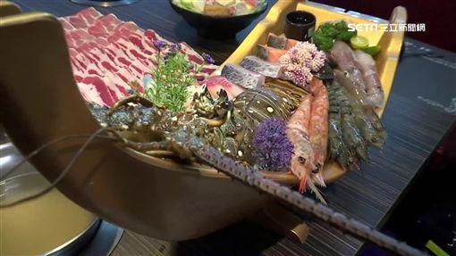 老饕快筆記!痛風系瘋嚐「青龍蝦鍋」 殼薄肉飽、蝦頭有肉