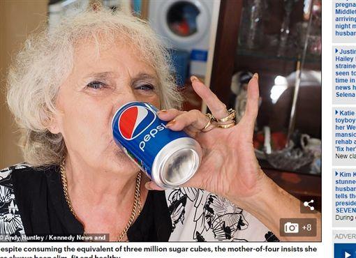 英國,汽水,可樂(圖/翻攝自《每日郵報》)