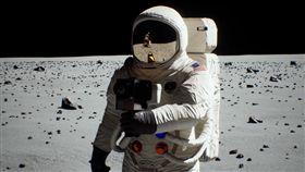 (圖/翻攝自NVIDIA YouTube)登月,月球,騙局,光影