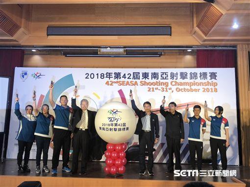 睽違15年台灣再度舉辦東南亞射擊錦標賽。(圖/記者劉忠杰攝影)