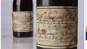 紅酒拍賣創天價1725萬元/翻攝自《independent》