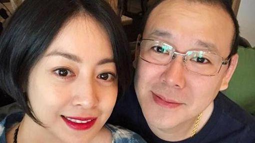 范筱梵與風流老公(右)婚姻出現狀況。(圖/翻攝自范筱梵臉書)