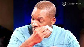 黑人男星威爾史密斯日前上老婆與岳母的網路節目,他17歲女兒薇洛也在場。(圖/翻攝自YouTube)