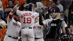 8局海灌5分!紅襪8:2大勝太空人 MLB,美聯冠軍戰,波士頓紅襪,Jackie Bradley Jr.,休士頓太空人 圖/美聯社/達志影像