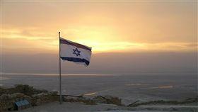 以色列國旗。(圖/翻攝自Pixabay)  以色列,戰爭,火箭