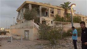 加薩走廊好戰份子攻擊以色列境內城市 圖/美聯社/達志影像