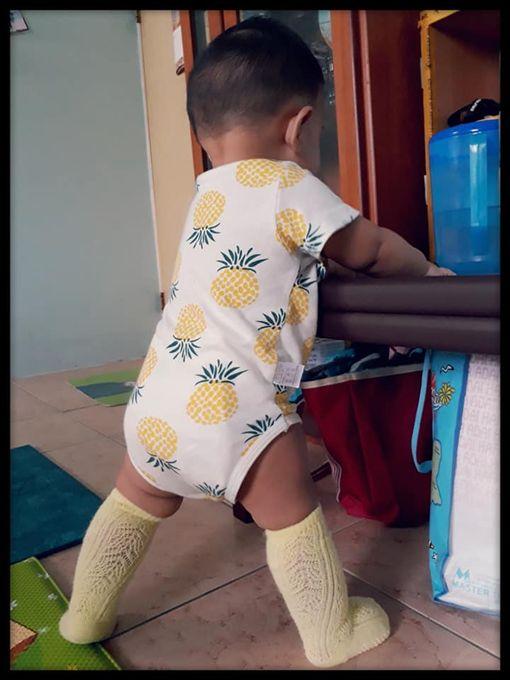 蕾絲,魔術襪,兒子,鳳梨,娘跑,/翻攝自爆怨公社