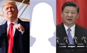 川普習近平/ 臉書 資料照