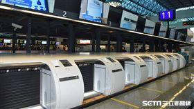 桃機公司,自助行李託運系統,第二航廈,/桃機公司提供