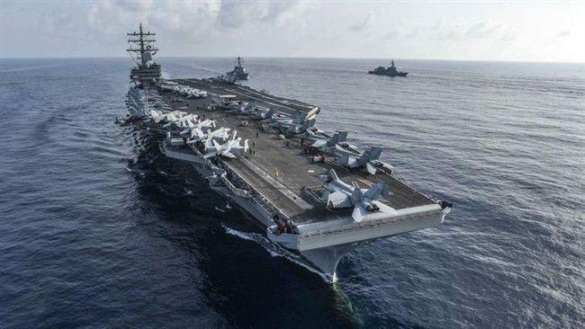 美衛生部長來台!航空母艦雷根號也來了 現蹤東海巡弋