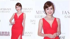 名模王心恬為頂級禮服品牌發表會壓軸走秀,翁滋蔓盛裝出席觀秀