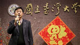 郭大維:盼過渡期盡快告一段落台大代理校長郭大維(圖)22日主持台灣大學新春團拜時表示,代理校長已進入第8個月,希望過渡期間盡快告一段落。中央社記者吳翊寧攝 107年2月22日