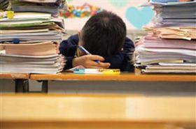教育,小學生,作業(圖/翻攝自臉書爆廢公社)