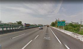 ▲陳難行駛在國道一號豐原往大雅方向。(圖/翻攝自Google Maps)
